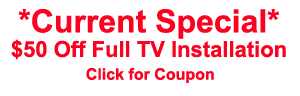 coupon for tv installation